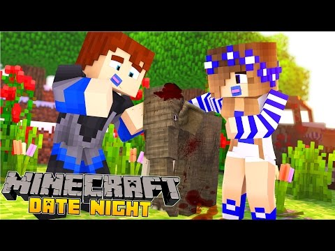 Minecraft-Date Night-BABY CARLY&BABY SCUBA STEVE ARE IN LOVE!!