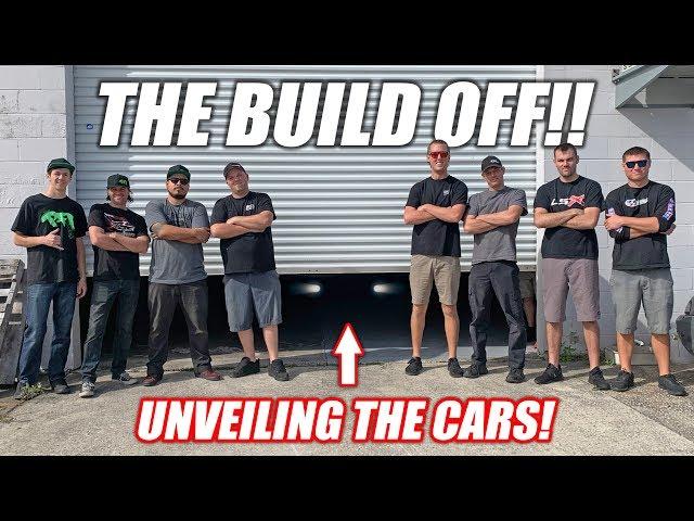 Build Wars DAY 1: Team Cleetus -VS- Team Boostedboiz ULTIMATE Youtube Build-Off! thumbnail
