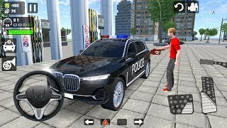 Police BMW X7 Driver Simulator - Luxury Offroad 4x4 SUV Driving - Android Gameplay