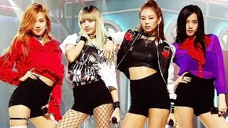 Debut Stage Blackpink 블랙핑크 Whistle 휘파람 A인기가요 Inkigayo 20160814
