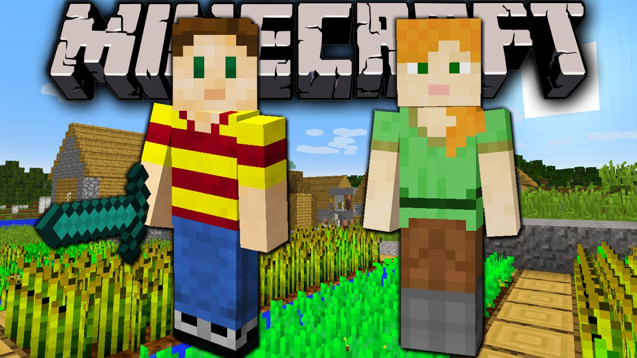 Minecraft 1.8: Slim Arm Player Model Released! Alex VS ...