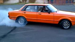 Ford Cortina 30S Burnout