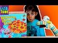 Веселая ИГРА ЧЕЛЛЕНДЖ сделай ПИЦЦУ Лиза и Червяк ШОУ Balancing PIZZA Funny Game Lizatube mp3