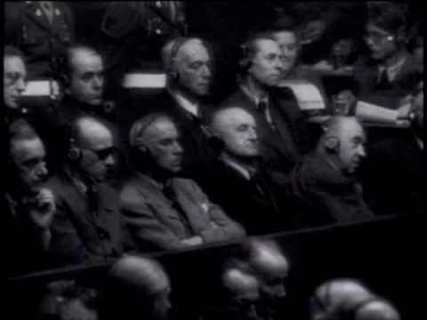 German Newsreel Judgment at Nuremberg Part II