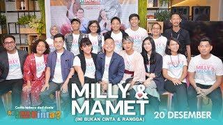 Download Lagu MILLY & MAMET (Ini Bukan Cinta & Rangga) Launching Trailer Gratis STAFABAND