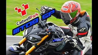 My first track day on my MT09-SP - Cadwell Park