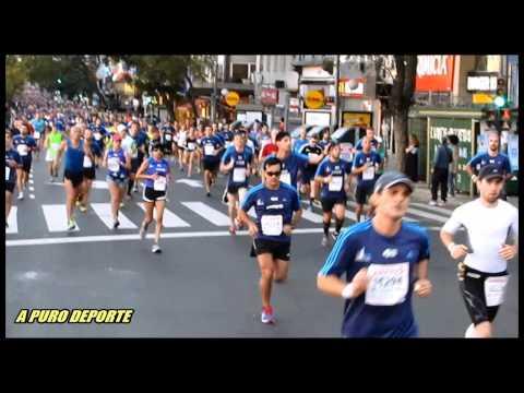 Paso de Atletas Media Maraton de Buenos Aires 06 set 2015 parte 1