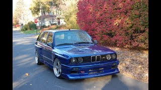 BMW E30 M3 Touring Restoration Project