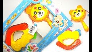 Đồ chơi xúc xắc tạo tiếng động hấp dẫn bé yêu | Đồ chơi trẻ em | đồ chơi cho trẻ sơ sinh