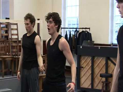 Spring Awakening Rehearsals Week 2 - YouTube