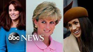 How Diana, Kate and Meghan created their own unique fashion statements