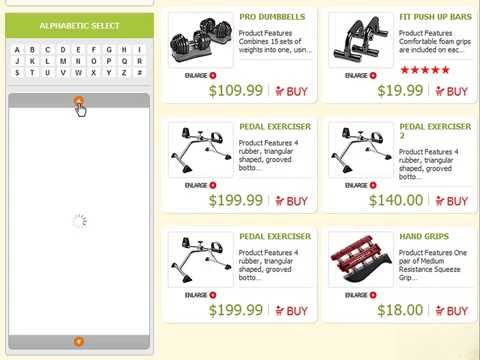 0 Sports & Fitness Store eCommerce template