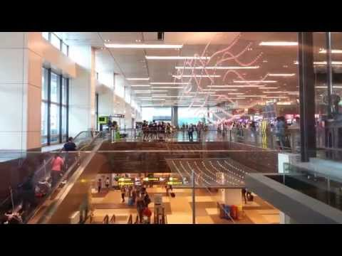 Oknha Meas | Copper Rain Drops at Changi International Airport