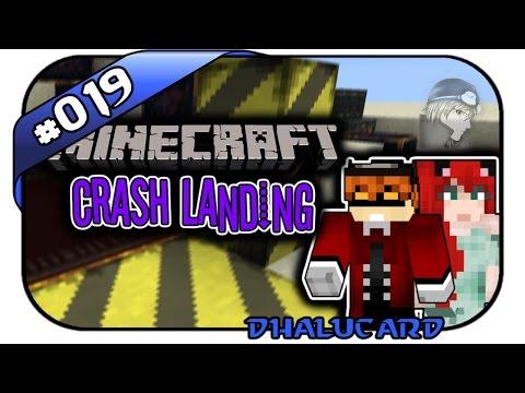 MINECRAFT CRASH LANDING #019 - ICH WILL DAS - Let's Play Minecraft - Deutsch German - Dhalucard