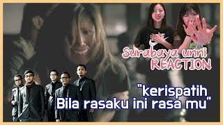 Reaction Cewek Korea Reaksi Indonesia Music Kerispatih Bila Rasaku Ini Rasamu Official M V