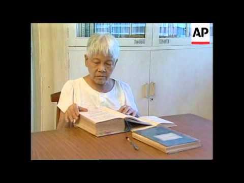 SINGAPORE: WOMAN ATTRIBUTES HER LONGEVITY TO BENEFITS OF YOGA