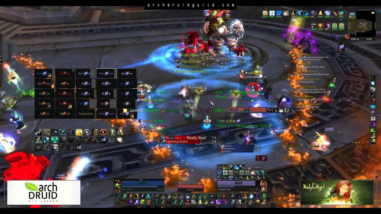 Arch Druid VS Heroic Iron Qon