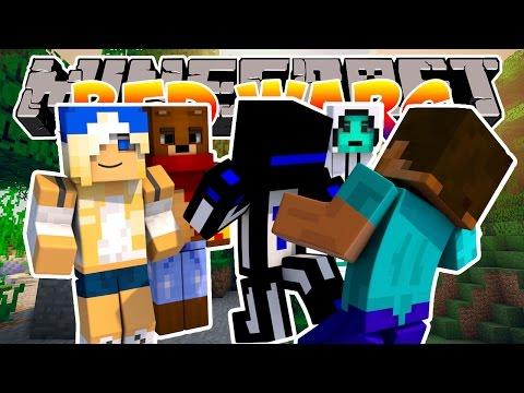 Minecraft Bed wars : Теросер карает нападающих! #87