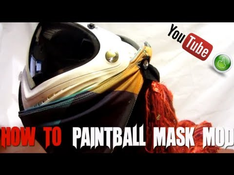 How to: Paintball Mask Mod - by  DangerMan Lars Hindsley