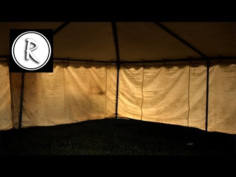 9 HOURS of RAIN on a TENT I Sound Therapy I 1095 LIKES ! Relax Night and Day