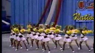 Clovis West Songleaders USA Nationals Champions 1992