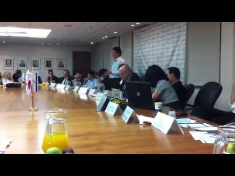Kazunari Okada-san Opens Samurai Inncubate Inc. door to Isr