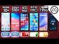 Samsung Note 10 Plus vs S10 Plus / iPhone XS Max / P30 Pro / OnePlus 7 Pro Battery Life DRAIN TEST