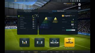 FIFA ONLINE 3 - Manager Mode Rank 6 (Formation & Strategy)