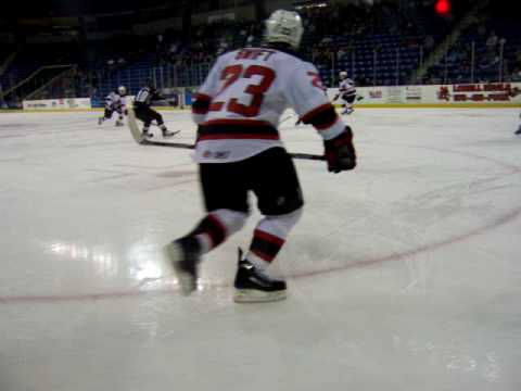 Lowell Devils vs Manchester Monarchs November 21, 2009 Devils win 5-3 Video