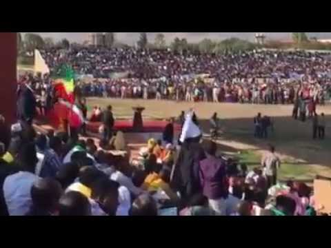 Residents of Ethio-Somali's Jigjiga city Protests in Support of Ethiopia government