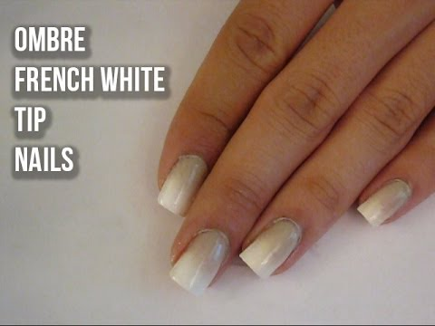 Normal French Tip Nails Ombre French Tip Nails
