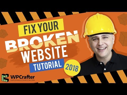 How To Fix WordPress Problems - Troubleshoot & Find The Problem & Repair
