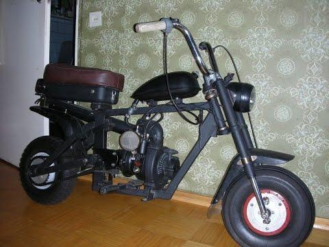 Сделать детский мотоцикл своими руками 615