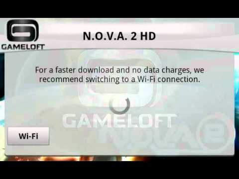 SKIP WiFi ON GAMELOFT GAMES DATA