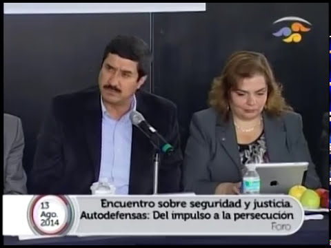 Encuentro sobre seguridad y justicia: Ley de Amnistía