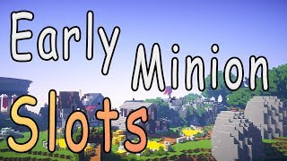 Early Minion Slots | No Coins Challenge Ep. 2 (Hypixel Skyblock)