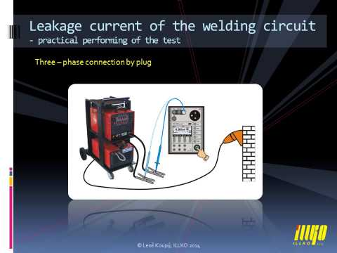 Verifying the safety of welding equipment according to EN 60974-4: 2010