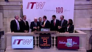 Illinois Tool Works Celebrates 100-year Anniversary