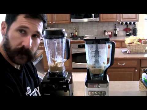 Vitamix vs Ninja Peanut Butter
