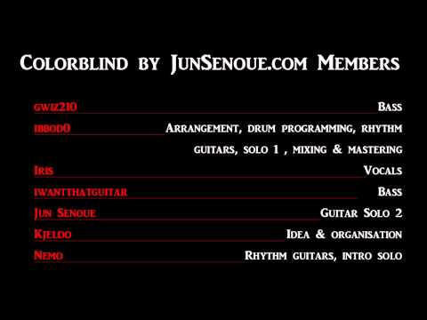 Colorblind (Unreleased Hardline Song Cover) - JunSenoue.com