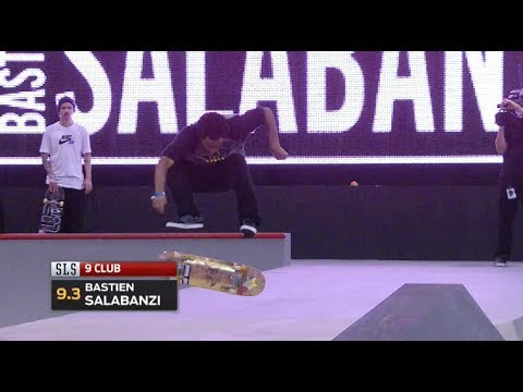 SLS Throwback | Bastien Salabanzi 9 Club Half Cab Double Flip!