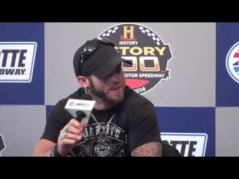 Day Six: Brantley Gilbert at Charlotte Motor Speedway