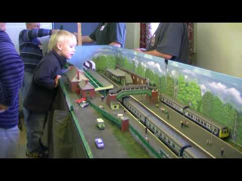 Culm Valley Model Railway Club's 2009 Exhibition Video