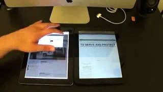 Hp Touchpad Vs Apple Ipad 2 - Tablet Comparison Video [Ipad 2 Vs Hp Touchpad]