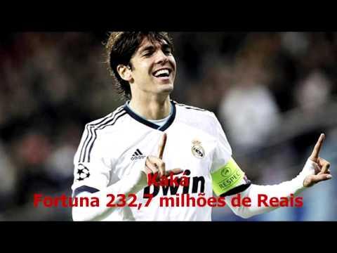 Os 10 Jogadores de Futebol Mais Ricos 2013 - LEIA TUDO NA DESCRIÇÃO DO VÍDEO!
