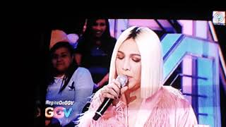 Regine On GGV | October 28, 2018 | Duet with Vice