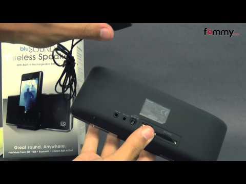 iSound� 1658 BluSound Bluetooth Speaker
