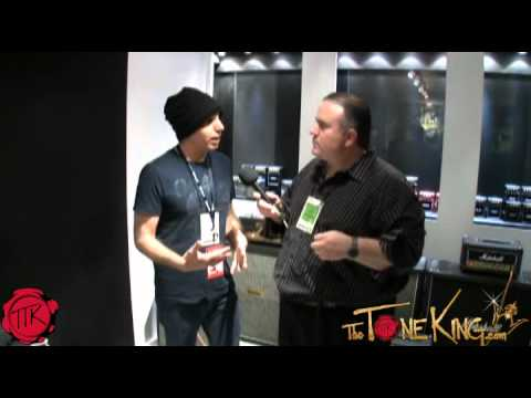 Interview w/ Joe Satriani : Marshall Signature Series Amp Head - Winter NAMM 2012