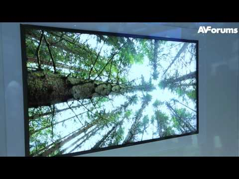CES 2012 - Samsung 4K2K Ultra High Definition TV previewed