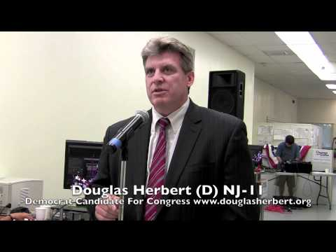 Douglas Herbert For Congress NJ-11 Somerset County Dems HQ Grand Opening, Somerville, NJ 8-27-10